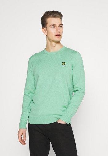 CREW NECK JUMPER - Stickad tröja - sea mint marl
