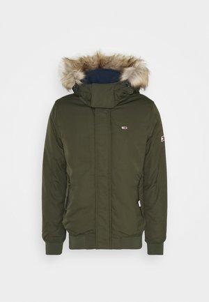 TECH BOMBER UNISEX - Winter jacket - dark olive