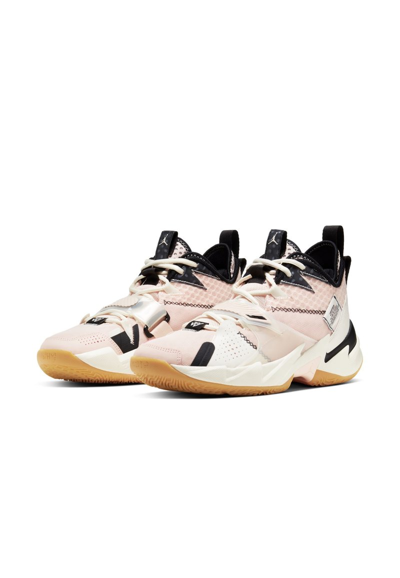 Jordan - WHY NOT ZER0.3 - Basketball shoes - pink tint/pale ivory-black