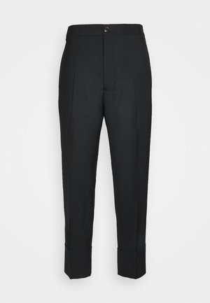 CROPPED GEORGE - Trousers - black