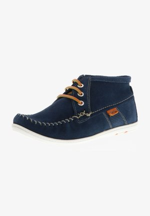 KLONDIKE MOKASSINS - Boat shoes - blau