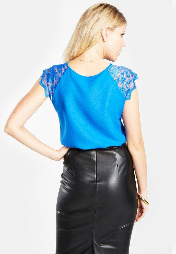 HotSquash Bluzka - blue Kolor jednolity Odzież Damska HMDX DY 4