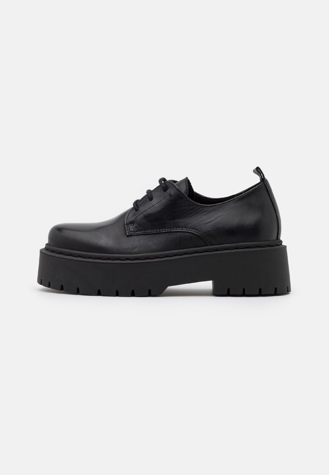 BIADEB LACED SHOE - Lace-ups - black