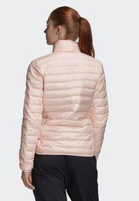 adidas Performance - VARILITE OUTDOOR DOWN - Down jacket - pink - 1