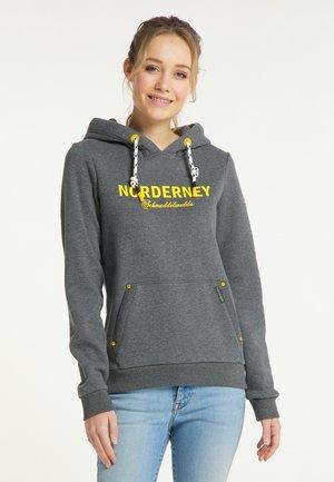 NORDERNEY - Hoodie - grau melange