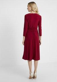Lauren Ralph Lauren - ZANAHARY - Robe en jersey - vibrant garnet - 2