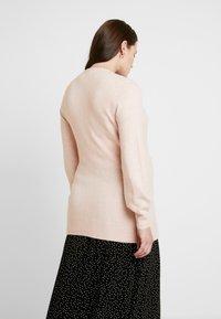 GAP Maternity - SIDE TIE WRAP - Cardigan - pink - 2