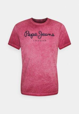 WEST SIR NEW - Camiseta estampada - currant