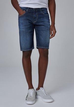 JAMIL - Denim shorts - blue used buffies