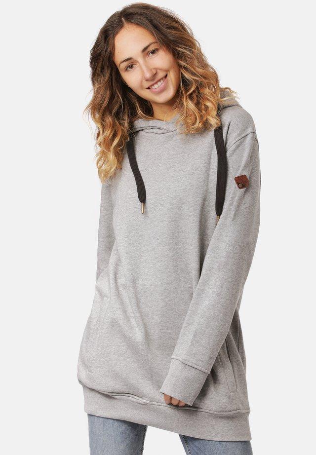 KASMA - Hoodie - mid grey heather
