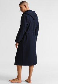 Schiesser - Dressing gown - dunkelblau - 2