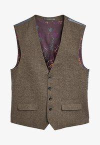 Next - Suit waistcoat - brown - 3