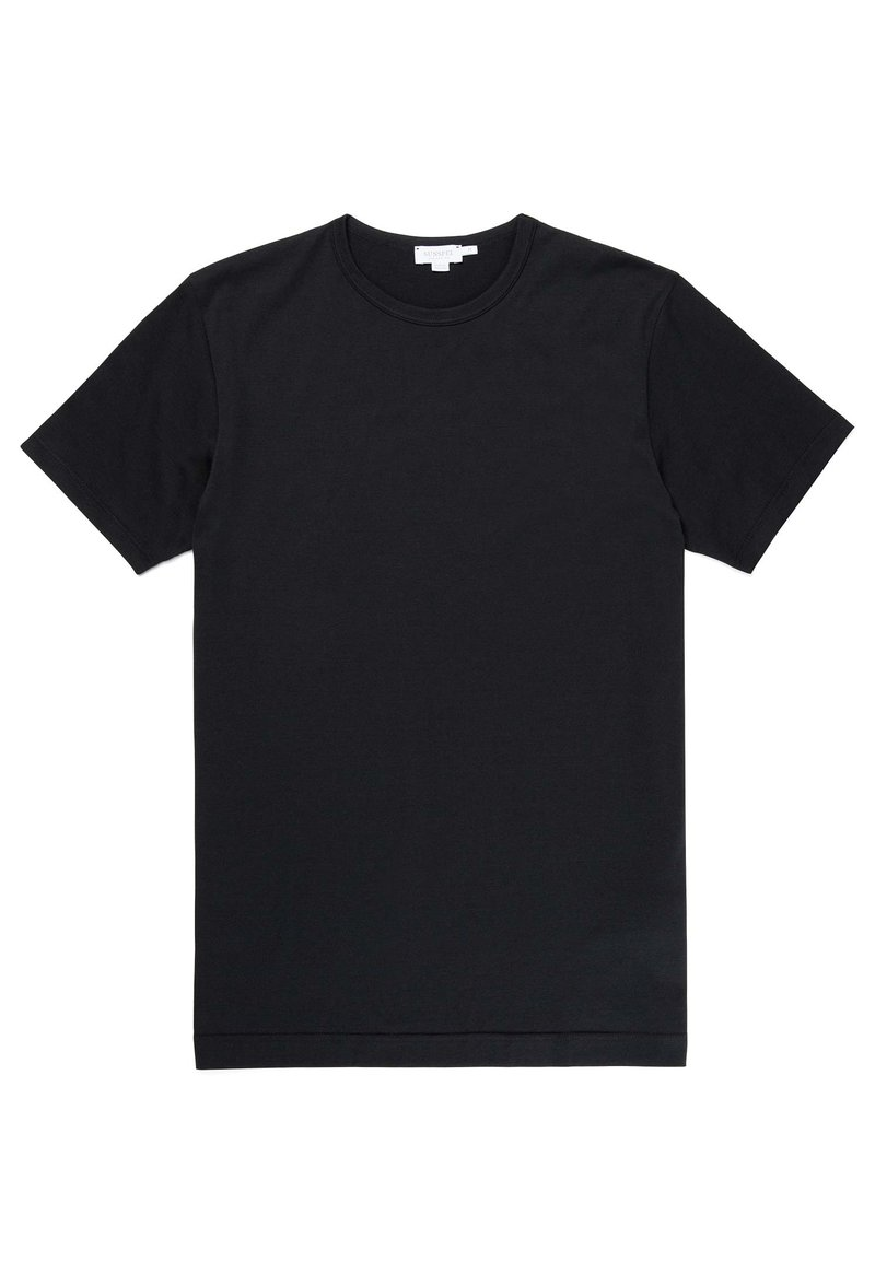 Sunspel - Basic T-shirt - black