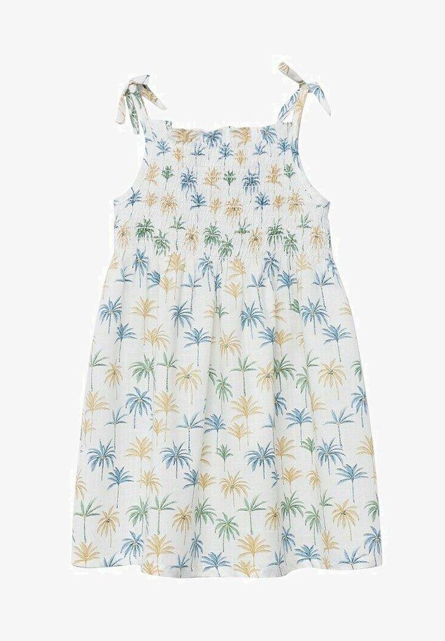 Mango - Day dress - bleu