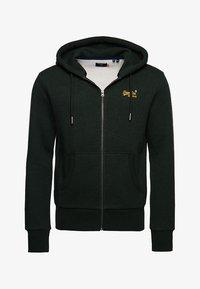 Superdry - ORANGE LABEL CLASSIC - Zip-up hoodie - campus green grit - 2