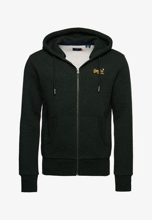 ORANGE LABEL CLASSIC - Zip-up hoodie - campus green grit