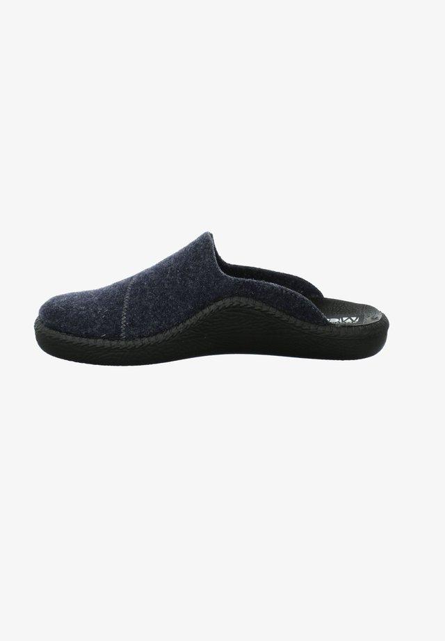 MONACO - Clogs - dunkelblau-kombi