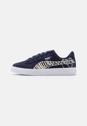 BASKET T4C UNISEX - Sneakers laag - navy