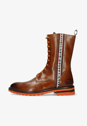 TREVOR WOOD SHERLING  - Lace-up ankle boots - brown