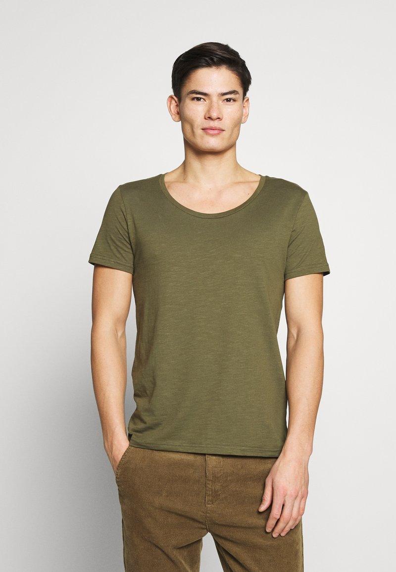 Pier One - T-shirt - bas - khaki