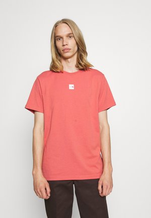 CENTRAL LOGO - Print T-shirt - faded rose