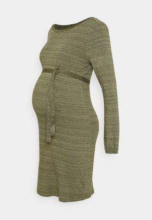 DRESS  - Jersey dress - ivy green