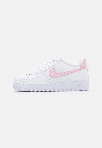 AIR FORCE 1 UNISEX - Sneakers basse - white/pink foam