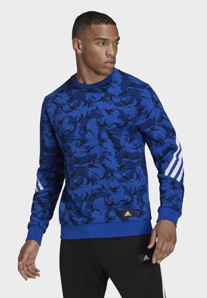 M FI CAMO CREW - Sweatshirt - blue