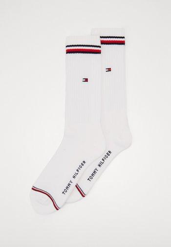 MEN ICONIC SOCK 2 PACK - Socks - white