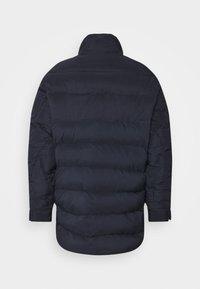 Henrik Vibskov - TILES LONG COAT - Winter jacket - navy - 11