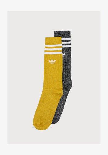 FULL CREW 2 PACK UNISEX - Socks - victory gold-coloured/black