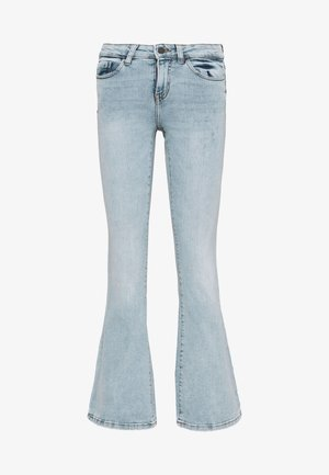 NMMARLI VINTAGE - Flared Jeans - light blue denim