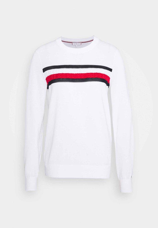 GLOBAL  - Sweter - white