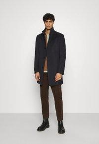 Strellson - NEW - Classic coat - dark blue - 1