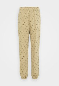 Nike Sportswear - W NSW PANT BB AOP PRNT PACK - Tracksuit bottoms - parachute beige - 4
