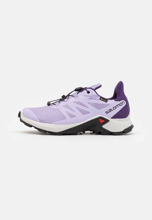 SUPERCROSS 3 GTX - Běžecké boty do terénu - lavender/lunar rock/cadet