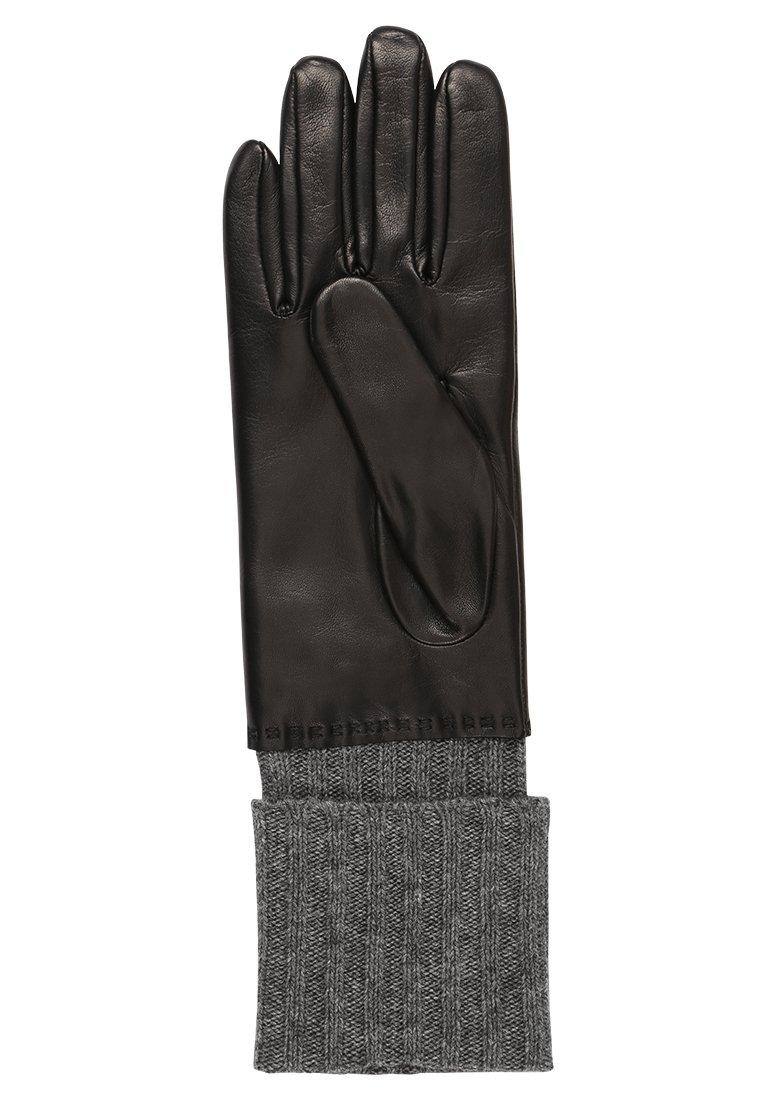 Roeckl HERITAGE - Hansker - black/grey/svart Y4do2weONVHg1Wu