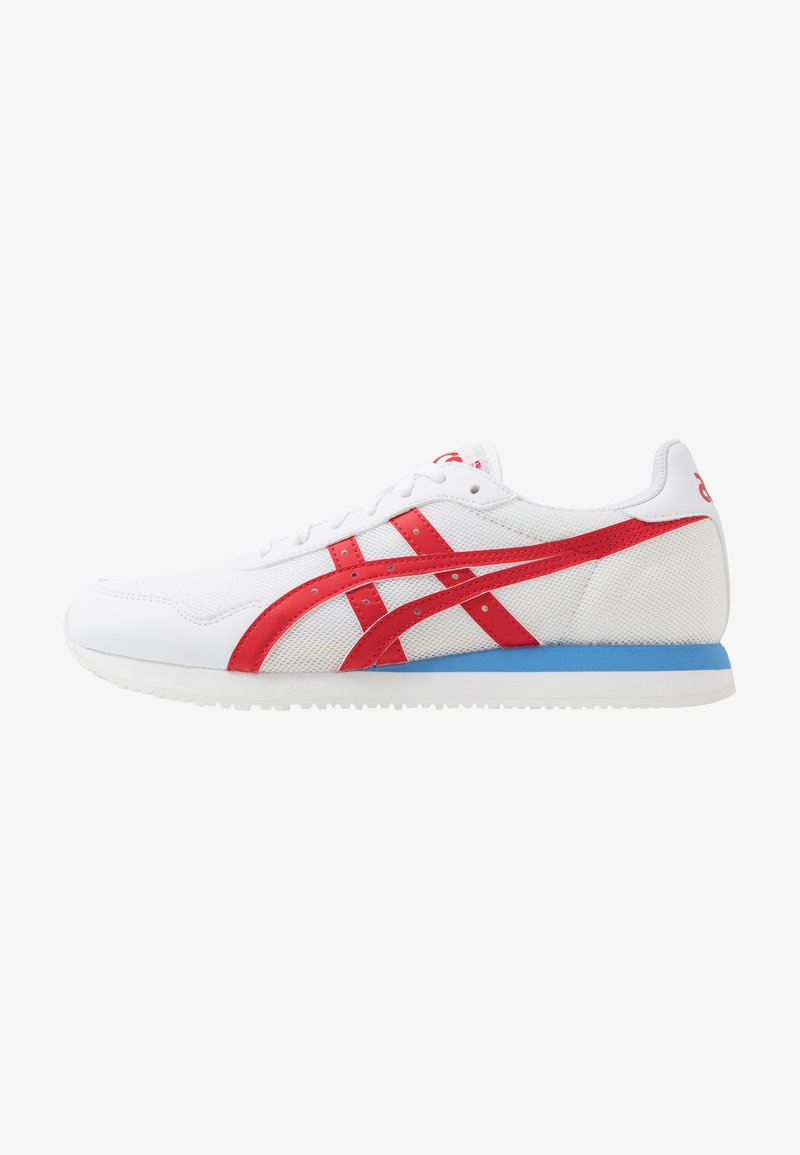 ASICS SportStyle - TIGER RUNNER UNISEX - Sneakers - white/classic red