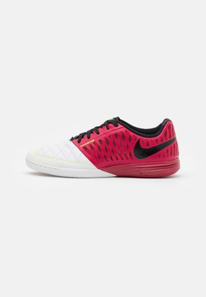 LUNARGATO II - Scarpe da calcetto - cardinal red/crimson tint/black/white
