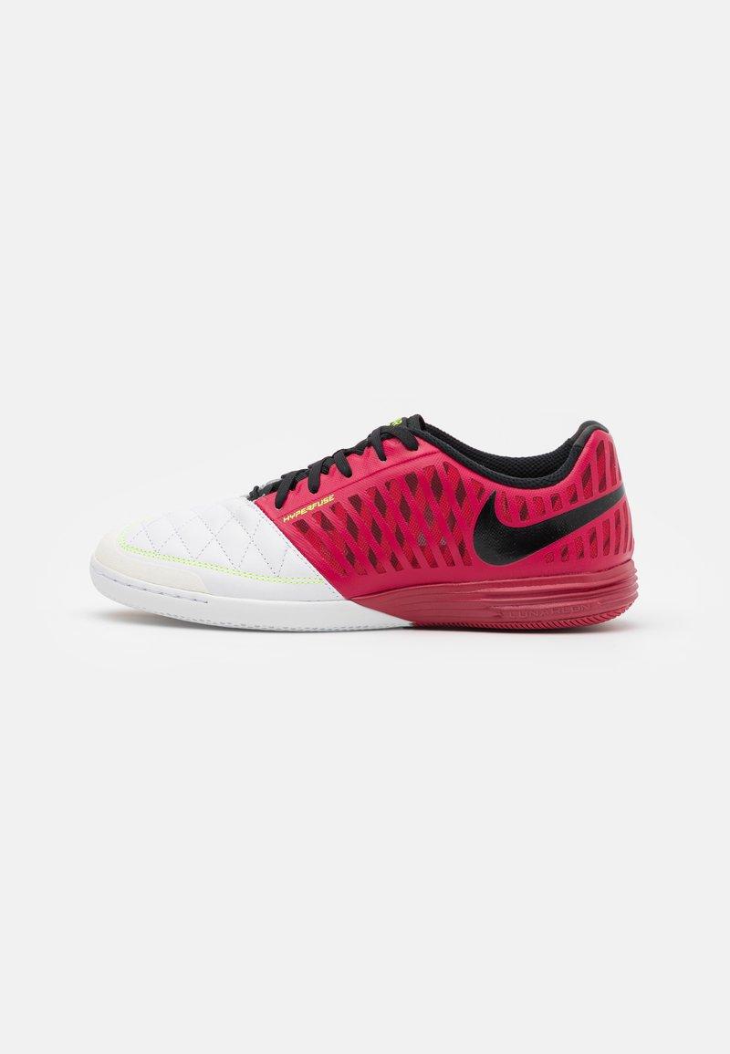 Nike Performance - LUNARGATO II - Halové fotbalové kopačky - cardinal red/crimson tint/black/white