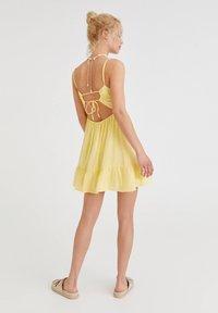 PULL&BEAR - Day dress - yellow - 2
