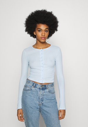 MINERVA LONG SLEEVE - Cardigan - light blue