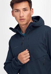 Mammut - Soft shell jacket - marine - 4