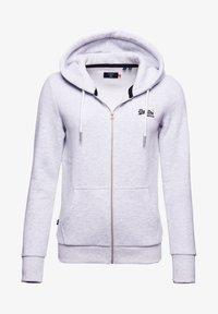 Superdry - ORANGE LABEL ZIP HOODIE - Zip-up sweatshirt - ice marl - 3