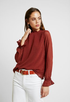 VMABIGAIL - Blouse - madder brown