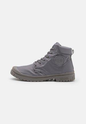 SLIM CUFF WP UNISEX - Lace-up ankle boots - titanium