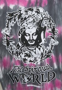 PRAY - SPIRITUAL MULTI UNISEX - Printtipaita - multi black - 2
