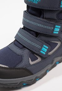 Hi-Tec - THUNDER WP  - Hiking shoes - navy/turquoise/black - 2