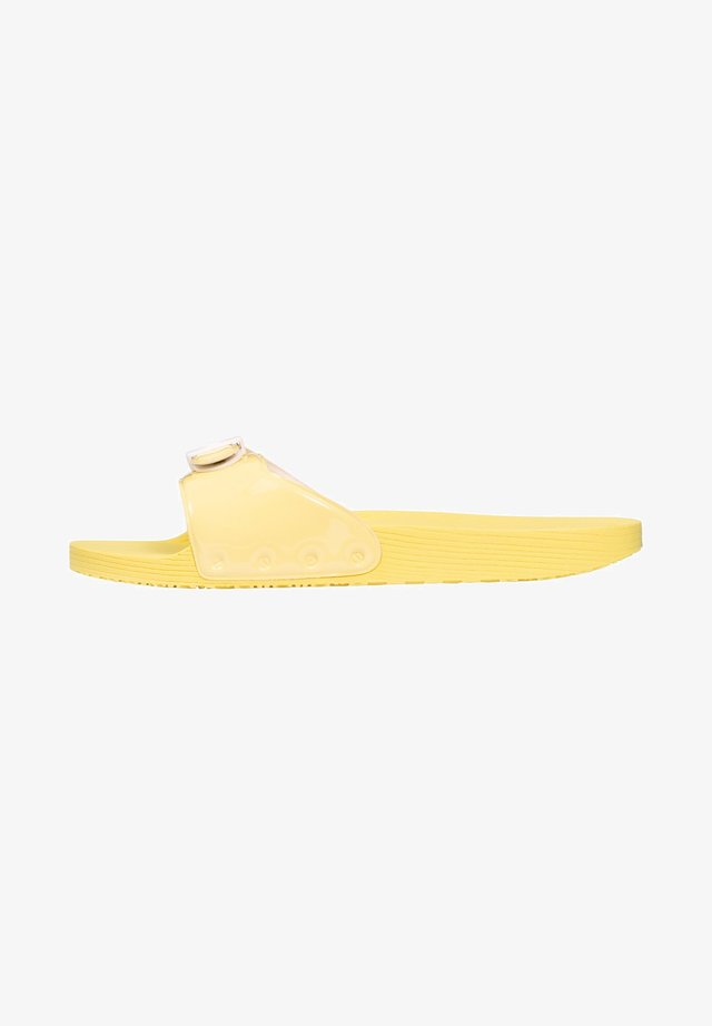 POP - Badslippers - gelb