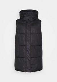 ONLY - ONLDEMY PADDED VEST - Waistcoat - black - 5